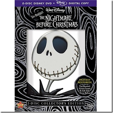 Nightmare Before Christmas Box Art
