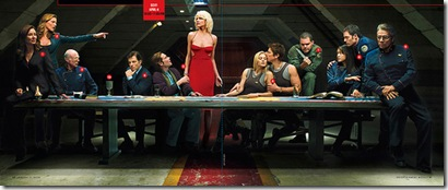 Last Cylon Supper