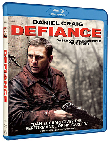 Defiance on Blu-ray and DVD June 2