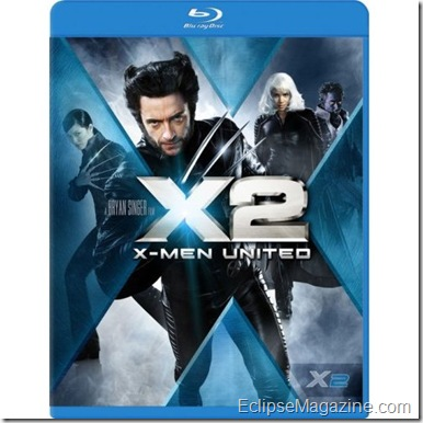 X2: Xmen United Blu-ray Review