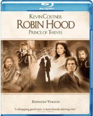 Robin Hood Prince of Thieves Blu-ray