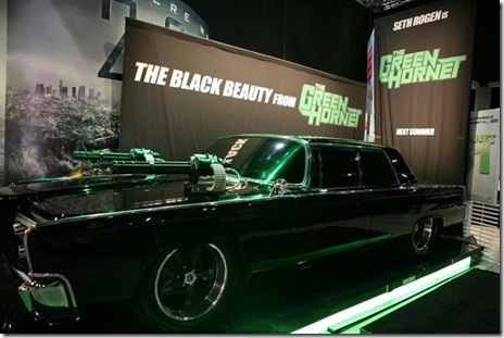 San Diego, California - July 22, 2009:  At the Comic-Con unveiling of The Black Beauty, a 1965 Chrysler Imperial from Columbia Pictures' The Green Hornet.