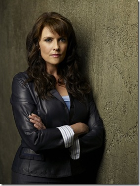 SANCTUARY -- Pictured: Amanda Tapping as Dr. Helen Magnus -- Syfy Photo: Pete Tangen