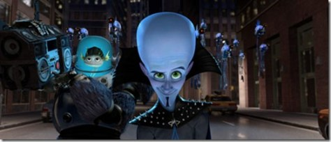 Megamind & Minion & Brainbots