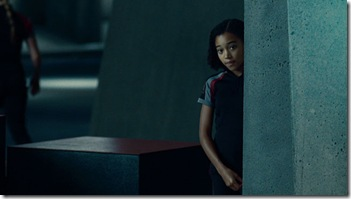 Amandla Stenberg is 'Rue' in THE HUNGER GAMES.