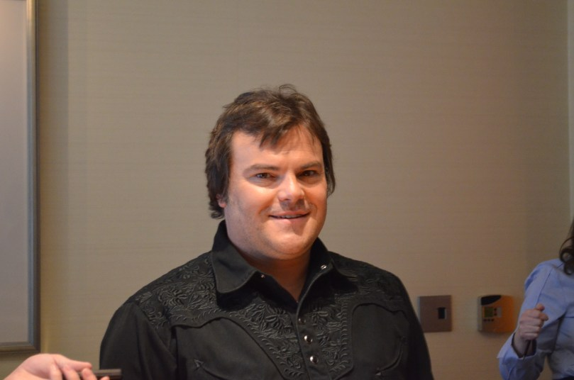 Jack Black at Bernie NY Press Day