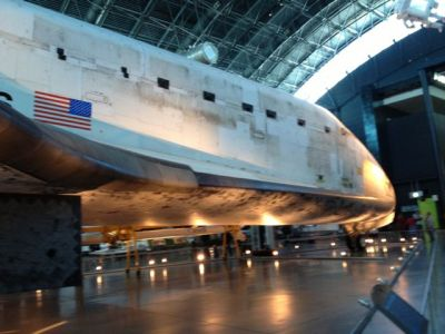 Airbus iMax Theater Space Shuttle