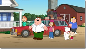"FAMILY GUY:  The Griffins move to the country to live on a farm where Peter starts an illicit drug business, a la ""Breaking Bad"" in an all-new ""Farmer Guy"" episode of FAMILY GUY airing Sunday, May 12 (9:00-10:00 PM ET/PT) on FOX.  FAMILY GUY ™ and © 2013 TCFFC ALL RIGHTS RESERVED."