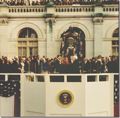 Reagan Takes Office