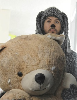 "WILFRED: Jason Gann as Wilfred on the WILFRED episode ""Acceptance""  airing July 14 on FX.  CR: Michael Becker / FX"