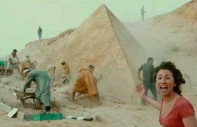Unearthing the pyramid