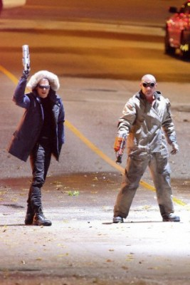 REUNITED! Wentworth Miller & Dominic Purcell team up on CW's FLASH!