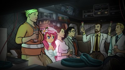 Archer - Pam & the Gang