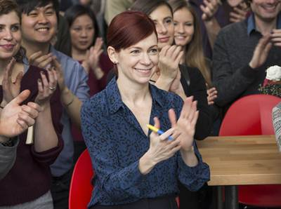 HAPPYish - Carrie Preston - Mark Schafer-Showtime