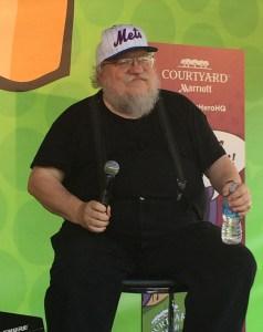 George RR Martin ComicCon 6-15-15