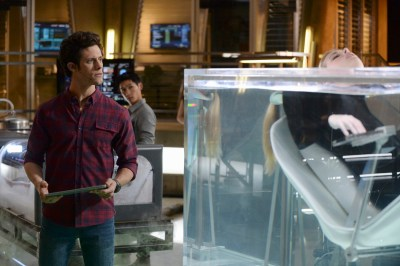 "STITCHERS - ""The Stitcher in the Rye"" - Kirsten stitches into the chaotic memories of a conspiracy theorist in an all-new episode of ""Stitchers,"" airing Tuesday, June 30, 2015 at 9:00PM ET/PT on ABC Family. (ABC Family/Eric McCandless) KYLE HARRIS"