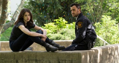"HBO  2014 The Leftovers Episode 107 ""Solace for Tired Feet"" Characters- Justin Theroux-  Kevin Garvey Margaret Qualley-  Jill Garvey"