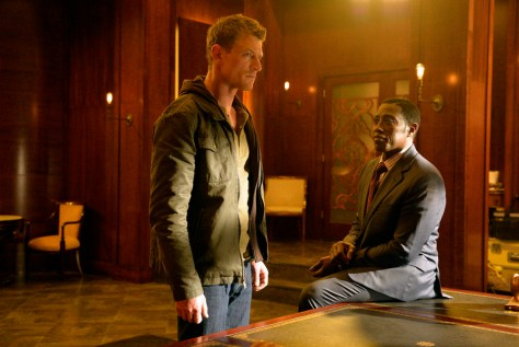 """THE PLAYER -- """"Pilot"""" -- Pictured: (l-r) Philip Winchester as Alex, Wesley Snipes as Johnson -- (Photo by: Gregory E. Peters/NBC)"""