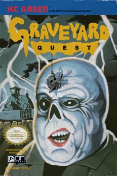 #1 Cover - Graveyard Quest
