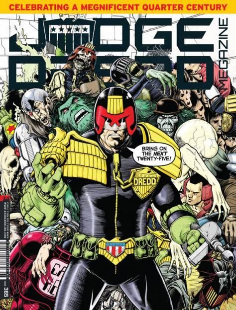 Dredd 25th Anniversary