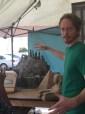 Creator Zeb Wells gives tour of set