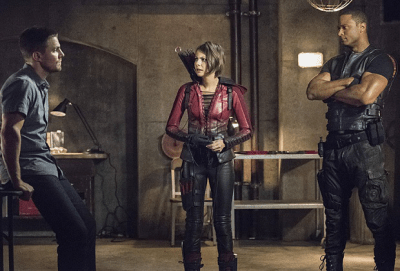 Arrow - Olivier, Thea, Diggle