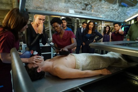 "STITCHERS - ""2.0"" - Kirsten's feelings come flooding back on the second season premiere of ""Stitchers"" airing on TUESDAY, MARCH 22 (10:00–10:00 p.m. EST) on Freeform, the new name for ABC Family. (Freeform/Eric McCandless) EMMA ISHTA, KYLE HARRIS, SOLA BAMIS, RITESH RAJAN, ODED FEHR, SALLI RICHARDSON-WHITFIELD, ALLISON SCAGLIOTTI, ROSS KURT LE, CAMERON BRITTON"