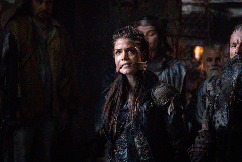 Marie Avgeropoulos as Octavia -- Credit: Liane Hentscher/The CW -- © 2016 The CW Network, LLC. All Rights Reserved