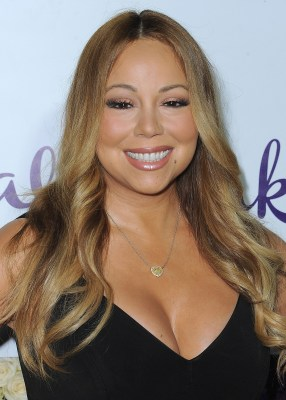 BEVERLY HILLS, CA - JULY 29:  Mariah Carey at the Crown Media Family Networks Summer 2015 TCA Tour at a private residence on July 29, 2015 in Beverly Hills, California. (Photo by Scott Kirkland/PictureGroup)
