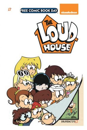 Papercutz Previews The Loud House Graphic Novel In Free Comic Book