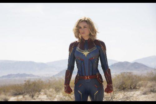 Captain Marvel Blazes Onto Home Screens!