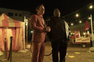 Better Call Saul - Jimmy McGill/Saul Goodman (Bob Odenkirk), Huell Babineaux (Lavell Crawford)
