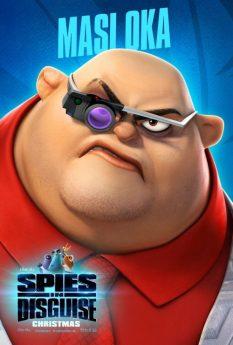 Spies in disguise - Kimura (Masi Oka)