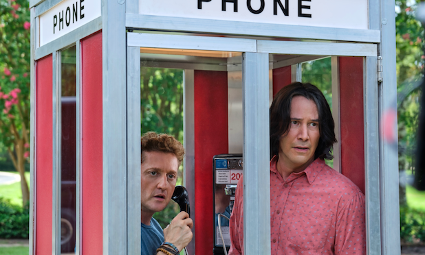 Honest and for True! First Look Photos from Bill & Ted Face the Music!