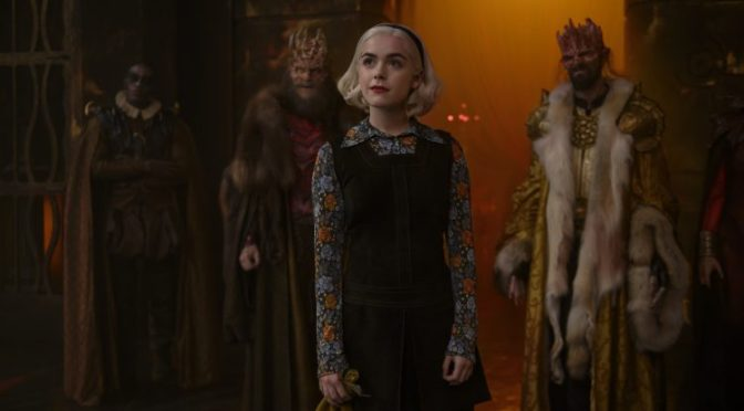 Hell's Under New Management Trailer: Chilling Adventures of Sabrina Part 3!