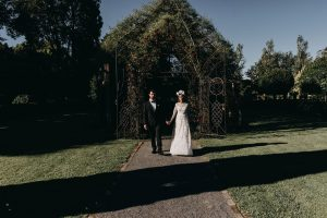 Rachel and Nathan wedding at the Tree Church, New Zealand