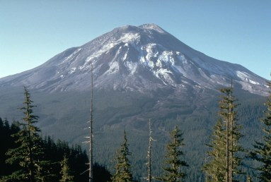 Mt St Helen - before eruption