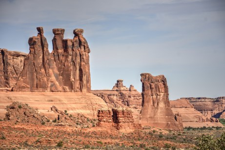 Arches National Park - Three Gossips