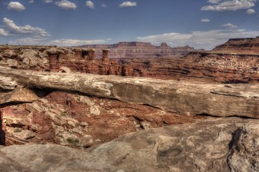 Canyonlands National Park - White Rim Road - Musselman Arch