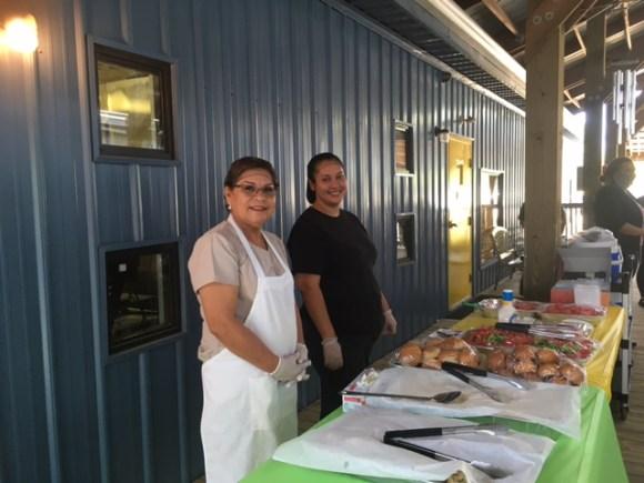 Cristina Castillo and Martha Rivas will make sure our children are well fed.