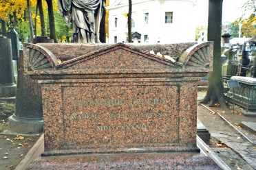 The tomb of Leonhard Euler
