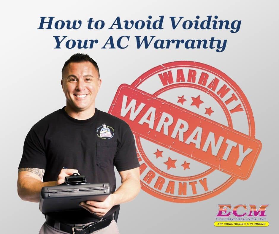 ECM-How-to-Avoid-Voiding-Your-AC-Warranty