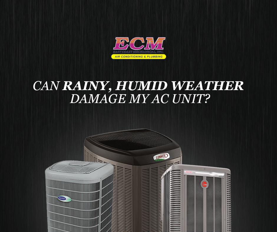 rainy weather damaging air conditioner
