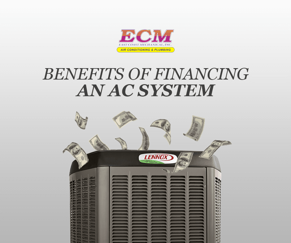 benefits financing ac system