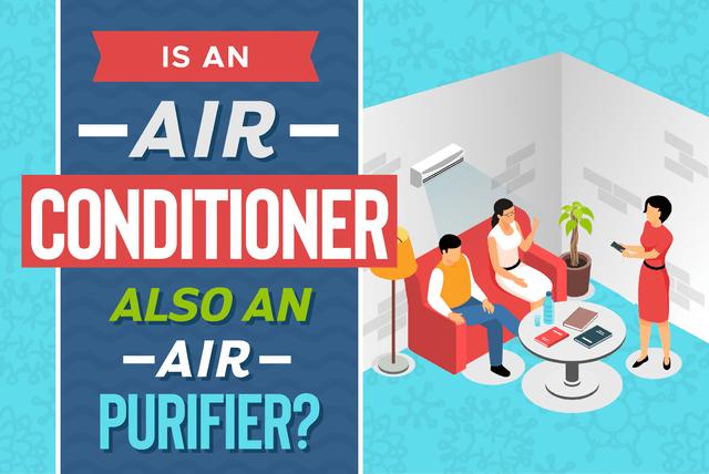 Is an air conditioner also an air purifier