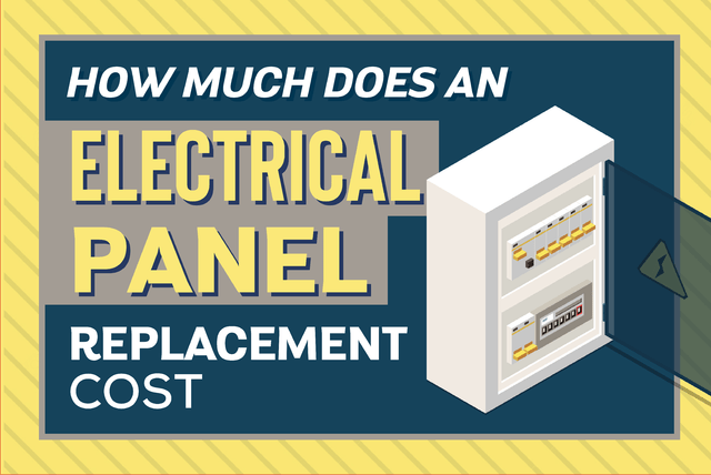 electrical panel replacement cost