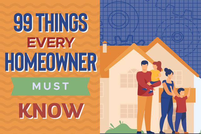 things every homeowner must know