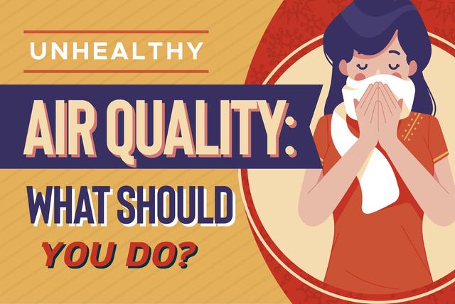 unhealthy air quality