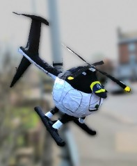 eggs helicopter