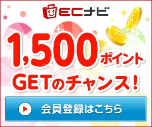 ECナビに登録&ポイント交換で最大2,000円分のポイントをプレゼント!2019年5月7日まで!